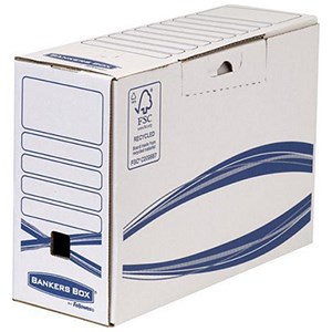 Image of Fellowes Bankers Box Basics Transfer Files / Recycled Board / Pack of 20