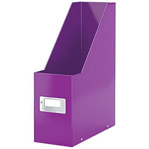 Image of Leitz WOW Click & Store Magazine File - Purple