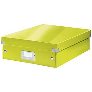 Image of Leitz WOW Click & Store Organiser Box / Medium / Green