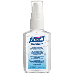 Image of Personal Purell Advanced Hygiene Hand Rub - 60ml