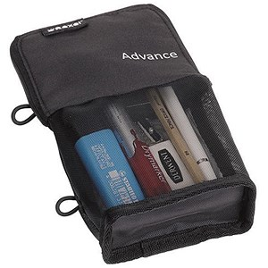 Image of Rexel Advance Stand & Store Pencil Pouch - Black