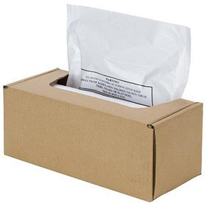 Image of Fellowes Shredder Bags for AutoMax 300C/500C 94L Ref 3608401 [Pack 50]