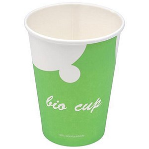 Image of Stewart Superior Biodegradable PLA Cups / 340ml / Pack of 30