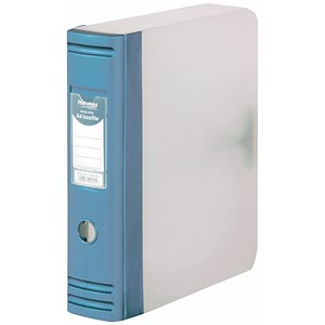 Image of Hermes Plastic Box File / 80mm Spine / A4 / Metallic Blue