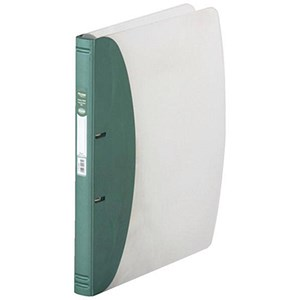 Image of Hermes Ring Binder / 2 O-Ring / 35mm Spine / 20mm Capacity / A4 / Metallic Green