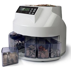 Image of Safescan 1200 EUR Coin Counter and Sorter for Euro Ref 113-0549