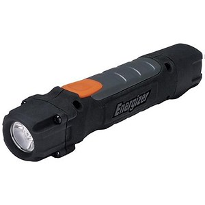 Image of Energizer Hardcase Pro 2 LED Rubber Cased Torch Weatherproof AA Ref 639618