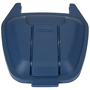 Image of Rubbermaid Mobile Container Lid - Blue