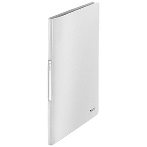 Image of Leitz Style Soft Cover Display Book / 40 Pockets / White
