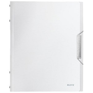 Image of Leitz Style Divider Book Part / File / Polypropylene / 12-Part / White