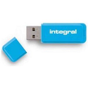 Image of Integral Neon USB 3.0 Flash Drive / 64GB / Blue