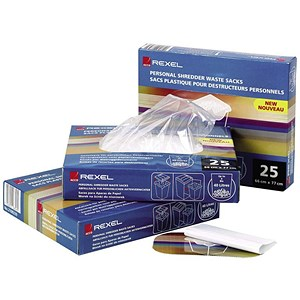 Image of Rexel AS3000 Waste Sacks Polypropylene 175 Litres Ref 40095 [Pack 100]