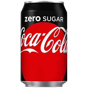 Image of Coca Cola Zero - 24 x 330ml Cans