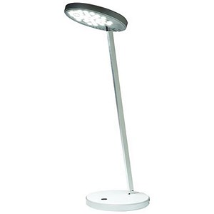 Image of Desk Lamp LED / 16W / Adjustable Arm and Head / H375mm / White
