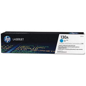 Image of HP 130A Cyan Laser Toner Cartridge