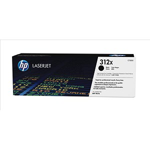 Image of HP 312X High Yield Black Laser Toner Cartridge