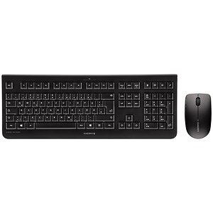 Image of Cherry DW3000 Wireless Desktop Keyboard & Optical Mouse / 2.4GHz / Black