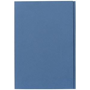 Image of Guildhall Square Cut Folders / 315gsm / Foolscap / Blue / Pack of 100