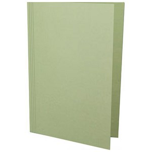 Image of Guildhall Square Cut Folders / 315gsm / Foolscap / Green / Pack of 100