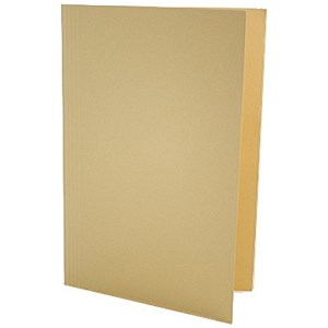 Image of Guildhall Square Cut Folders Manilla 315gsm Foolscap Yellow Ref FS315-YLWZ [Pack 100]