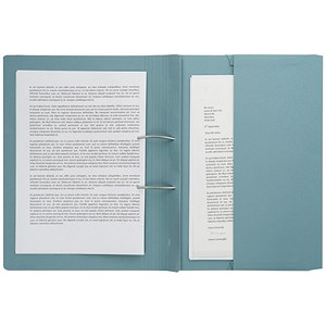 Image of Guildhall Transfer Spring File 315gsm Back Pocket Foolscap Blue 211/9060Z [Pack 25]