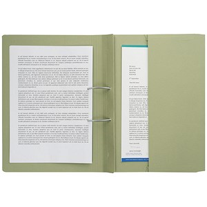 Image of Guildhall Back Pocket Transfer Files / 315gsm / Foolscap / Green / Pack of 25