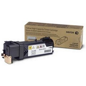 Image of Xerox Phaser 6128 Yellow Laser Toner Cartridge