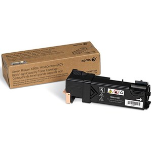 Image of Xerox Phaser 6500 High Capacity Black Laser Toner Cartridge