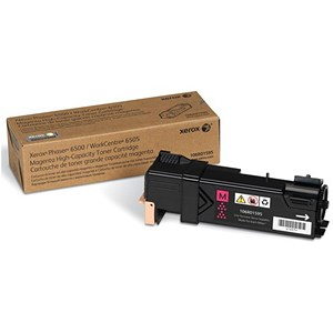 Image of Xerox Phaser 6500 High Capacity Magenta Laser Toner Cartridge