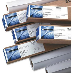 Image of HP Matte Film Roll - 160gsm - 910mm x 38.1m