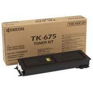 Image of Kyocera TK-675 Black Laser Toner Cartridge