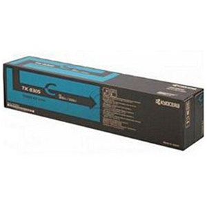 Image of Kyocera TK-8305C Cyan Laser Toner Cartridge