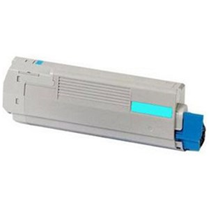 Image of Oki C321dn Cyan Laser Toner Cartridge