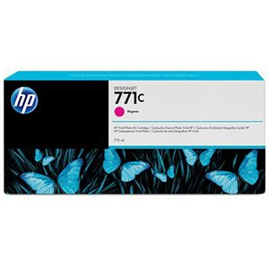 Image of HP 771C DesignJet Magenta Ink Cartridge