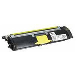 Image of Konica Minolta A00W131 Yellow Laser Toner Cartridge