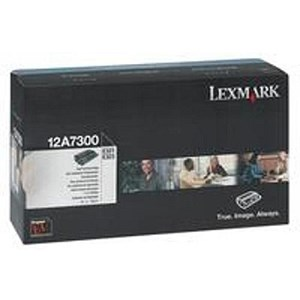 Image of Lexmark 12A7300 Black Laser Toner Cartridge