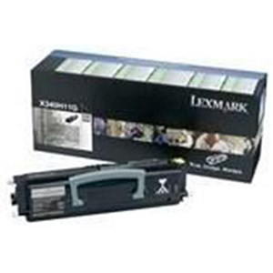 Image of Lexmark X340H31E Black Laser Toner Cartridge