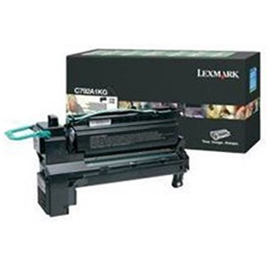 Image of Lexmark C792A1KG Black Laser Toner Cartridge
