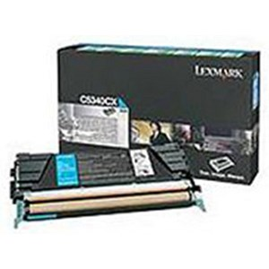 Image of Lexmark C5340CX Cyan Laser Toner Cartridge
