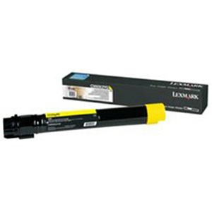 Image of Lexmark C950X2YG Extra High Yield Yellow Laser Toner Cartridge
