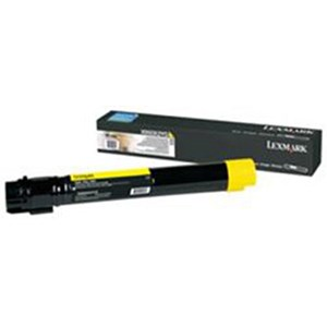 Image of Lexmark X950X2YG Extra High Yield Yellow Laser Toner Cartridge