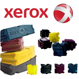 Image of Xerox ColorQube 8870 Black Solid Ink Sticks (Pack of 6)