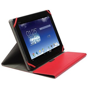 Image of Kensington Comercio Fit Universal Multi Position Folio Case / 10 inch Tablets / Red