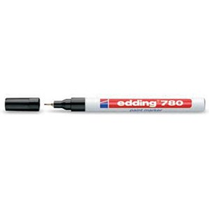 Image of Edding 780 Paint Marker / Extra Fine / Bullet Tip / White / Pack of 10