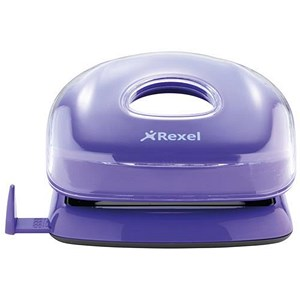 Image of Rexel JOY 2-Hole Punch / Perfect Purple / Punch capacity: 11 Sheets