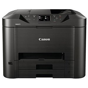 Image of Canon Maxify MB5350 Colour Inkjet Multifunction Printer Duplex WiFi 23ppm A4 Ref CANMB5350