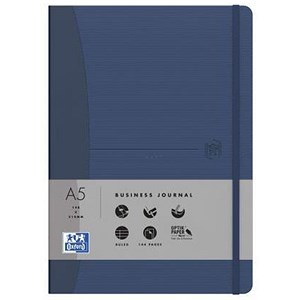 Image of Oxford Signature Soft Cover Business Journal / 144 Pages / Blue