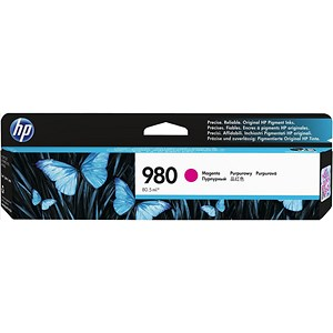 Image of HP 980 Magenta Ink Cartridge