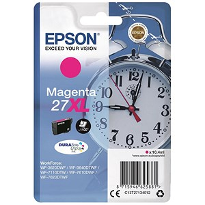 Image of Epson 27XL Magenta Inkjet Cartridge