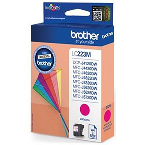 Image of Brother LC223M Magenta Inkjet Cartridge